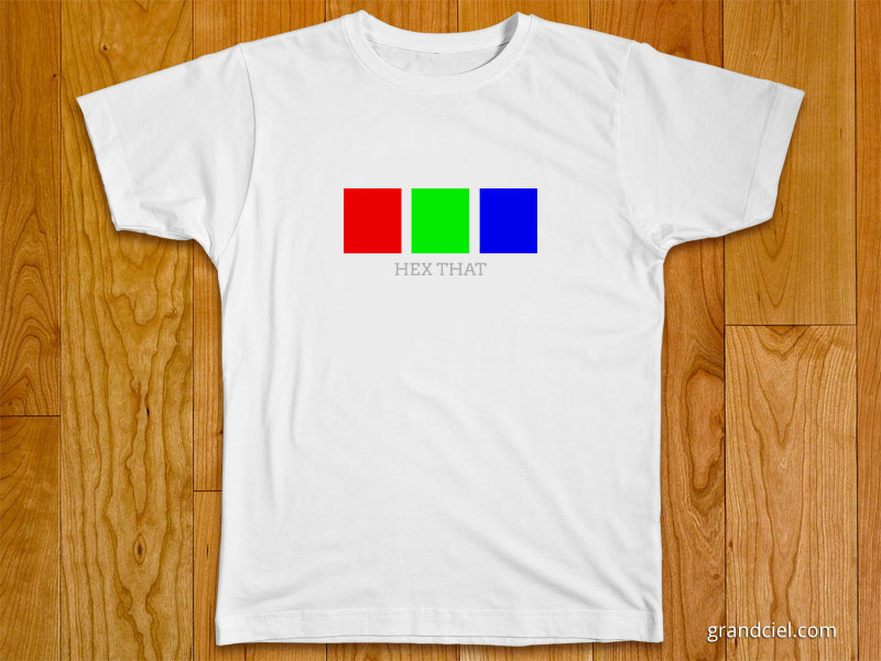 Hex That T-Shirt Design
