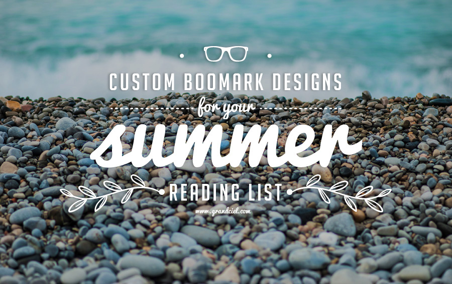 My Custom Bookmark Designs for Your Summer Reading