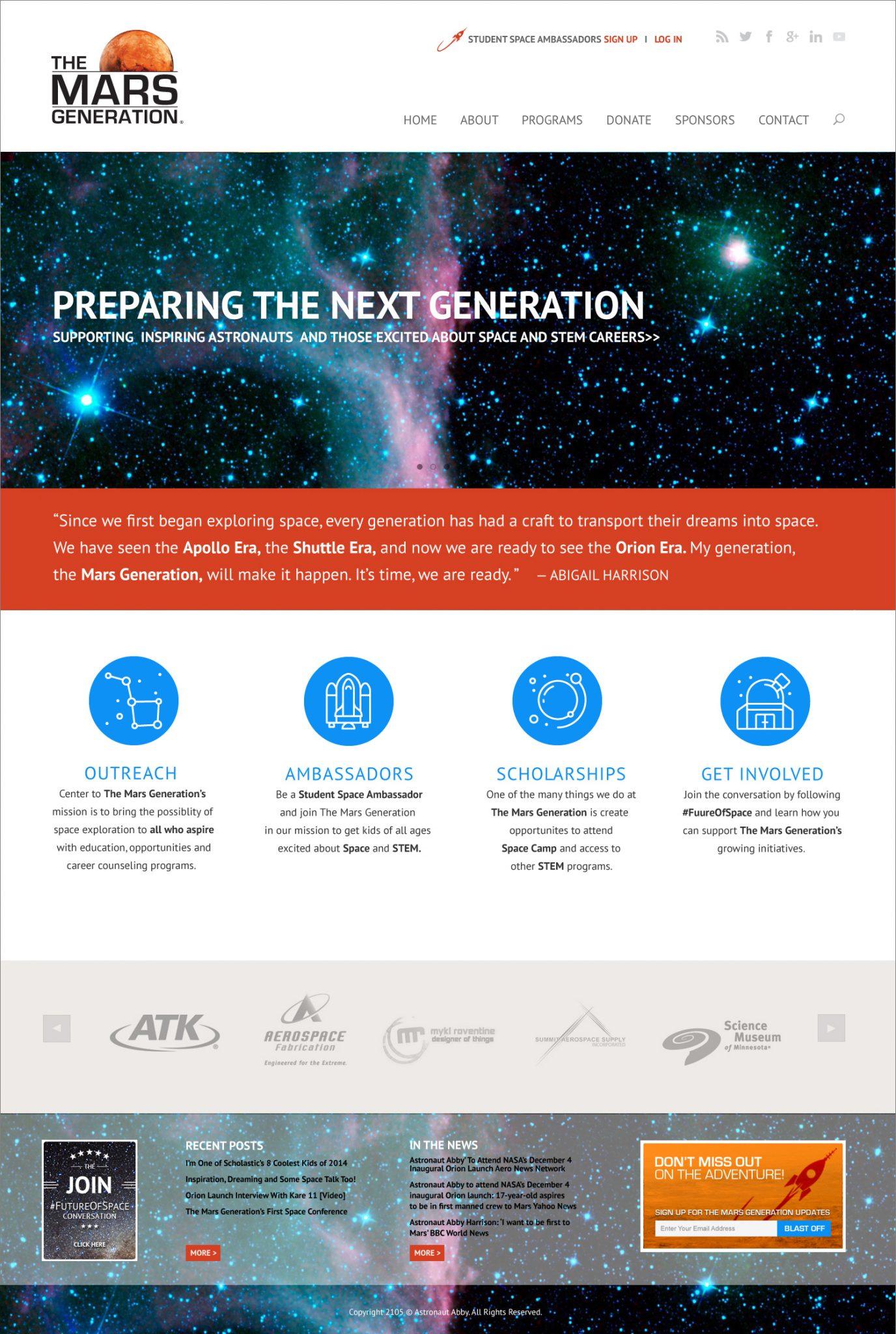 TheMarsGeneration-WebDesign