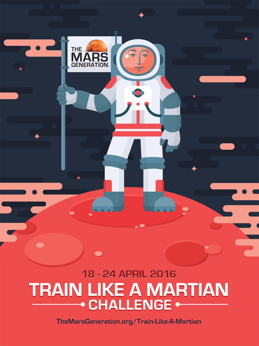 The Mars Generation Train Like A Martian Campaign