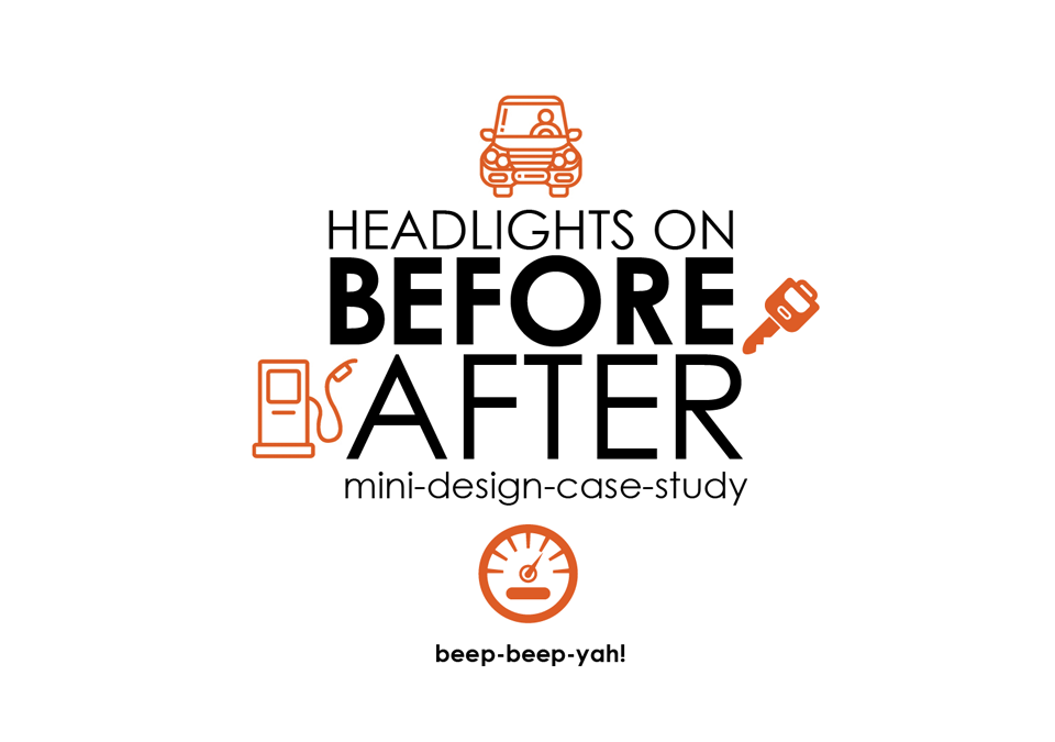 Buckle Up ~ Before & After Design Case Study