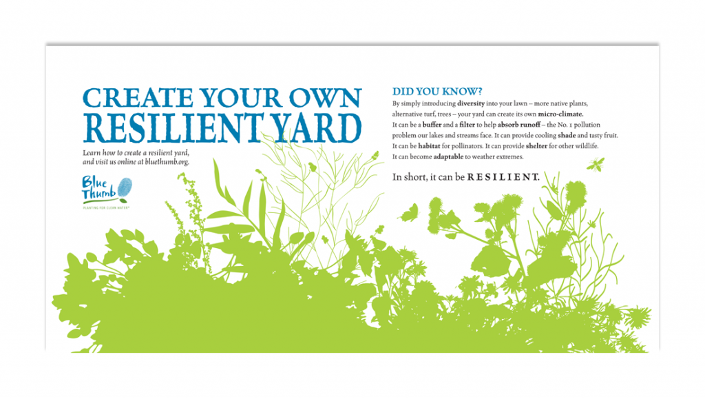 Create Your Own Resilient Yard Blue Thumb State Fair Banner