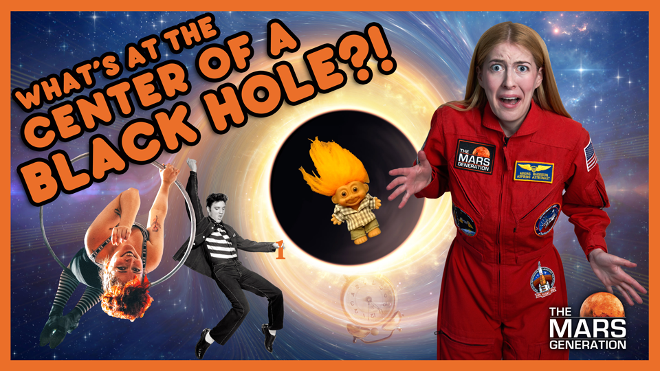 What's At The Center of a Black Hole?! Episode 3 Season Three of #AskAbby