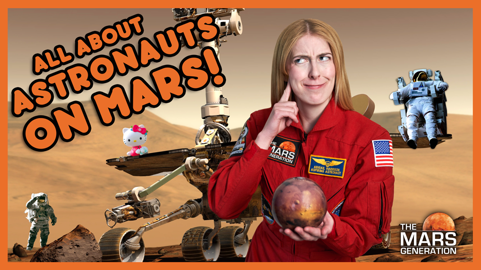 All About Astronauts On Mars! #Ask Abby Video Thumbnail