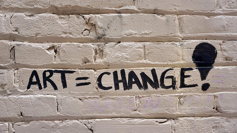 art-equals-change